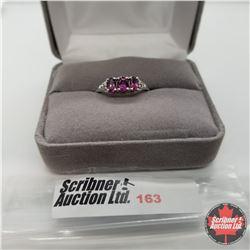 Ring - Size 6: Orissa Garnet - Sterling Silver