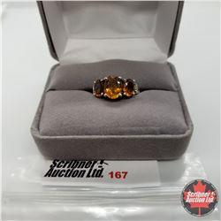 Ring - Size 6: Santa Ana Madeira Citrine - Sterling Silver