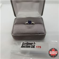 Ring - Size 6: Iolite - Sterling Silver