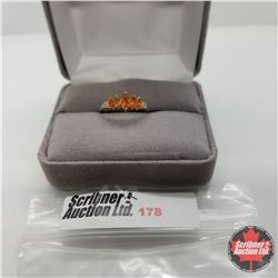 Ring - Size 6: Jalisco Fire Opal Platinum Overlay