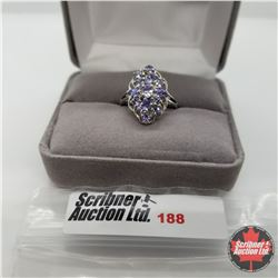 Ring - Size 6: Tanzanite - Sterling Silver