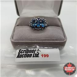 Ring - Size 7: London Blue Topaz - Sterling Silver