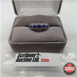Ring - Size u/k: London Blue Topaz - Sterling Silver