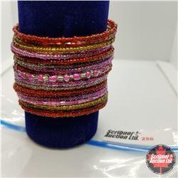 Bangle - Multi Coloured (opens) Austrian Crystal