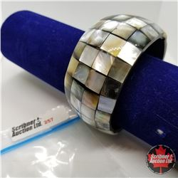 """Bangle - Mother of Pearl 2 1/2"""""""