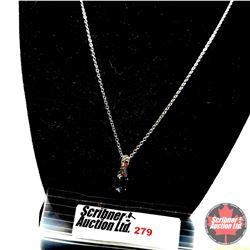 """Necklace - London Blue Topaz - Sterling Silver (20"""")"""