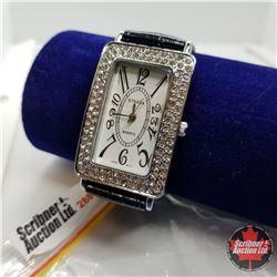 Watch - Black Austrian Crystal