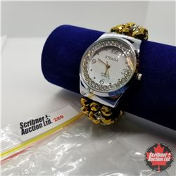 Watch - Gold Beaded