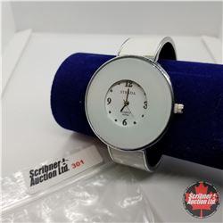 Watch - White Cuff