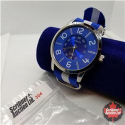 Watch - Blue & White