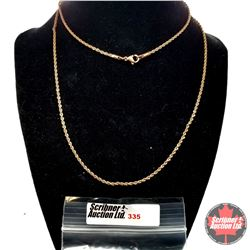 """Chain - Copper Coloured Stainless Steel (30"""") - Stainless"""