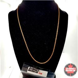 """Chain - RG Rope Chain (20"""") Stainless"""