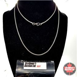 """Chain - 30"""" Stainless"""