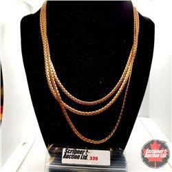 """Chain - Tri Chain (18"""") Stainless"""