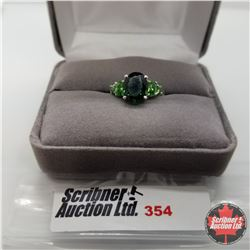 Ring - Size 7: Simulated Emerald