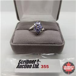Ring - Size 7: Tanzanite - Platinum Bond