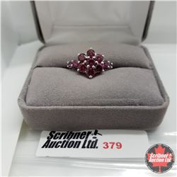 Ring - Size 7: Ruby - Sterling Silver