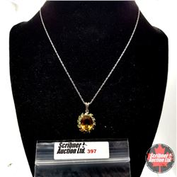 """Necklace: Alexite (18"""") - Sterling Silver"""