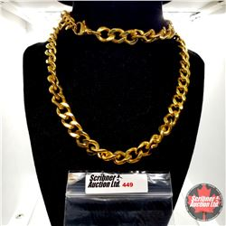 "Chain: Curb Steel (30"") Stainless"