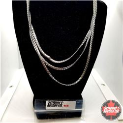 """Chain: Triple Strand (18"""") Stainless"""