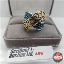 Ring - Size: 7: Swarovski Crystal Band Stainless
