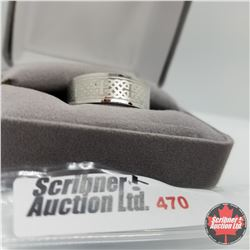 Ring - Size 11: Mens Band Stainless