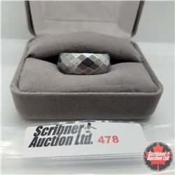Ring - Size 9: Hematite - Stainless