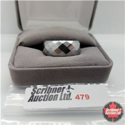 Ring - Size 11: Hematite - Stainless