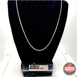 """Chain: Snake Chain (20"""") Stainless"""