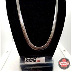 """Chain: Flat Herringbone (20"""") Stainless"""