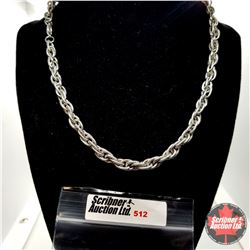 """Chain: Singapore Stainless (18"""") Stainless"""
