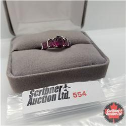 Ring - Size 7: Russia Garnet - Sterling Silver - Rare!