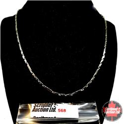 """Chain: Bar Chain (20"""") - Over Stainless"""