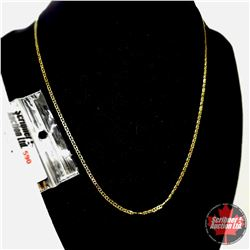 """Chain: Mariner  (18"""")  - Stainless with 14K Overlay ION Plated Brass"""