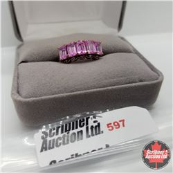 Ring - Size 7: Pink Sapphire Rose Gold