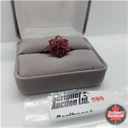 Ring - Size 7: Ruby (Lab) Rose Gold
