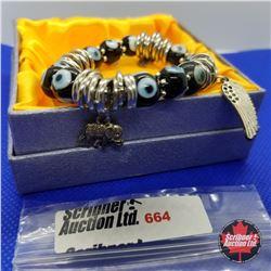 Bracelet - Turkish Evil Eye Glass Beads