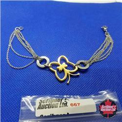 "Bracelet - Butterfly 7"""