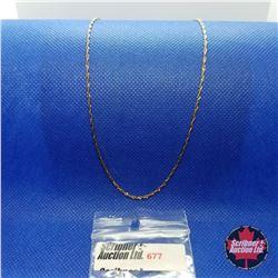 "Chain (18"")  - 14k Overlay Stainless"
