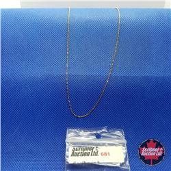 "Chain - 14K Overlay Sterling (18"")"