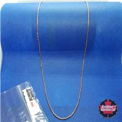 """Chain - Rose Gold  (30"""")"""