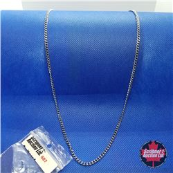 """Chain - Stainless (30"""")"""