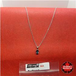 """Necklace - London Blue Topaz (24"""") - Sterling Silver"""