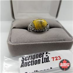 Ring - Size 7: Bumble Bee Stainless