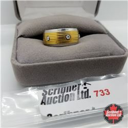 Ring - Size 6: Stainless Band Stainless