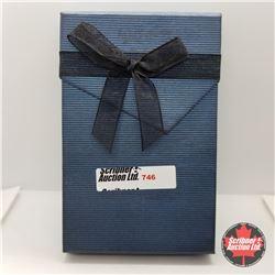 "Set -  Cubic Zirconia (18"") - Sterling Silver (w/Box)"