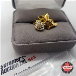 Ring - Size 8: Swarovski Ring - Stainless