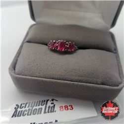 Ring - Size 8: Ruby (Niassa) - Sterling Silver