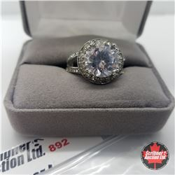 Ring - Size 8: Austrian Crystal Stainless