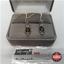 Earrings - Laboradite - Silver